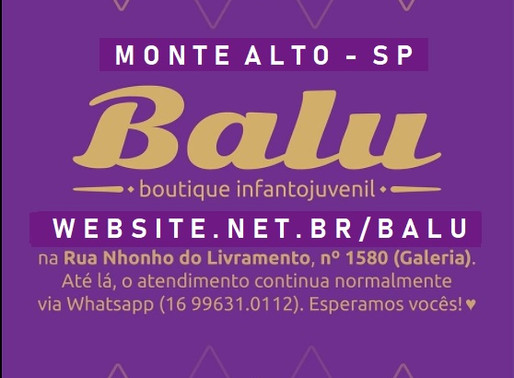 LOJA BALU MONTE ALTO - SP