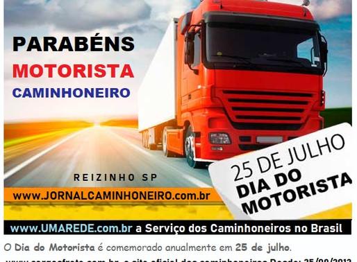25 DE JULHO DIA DO MOTORISTA