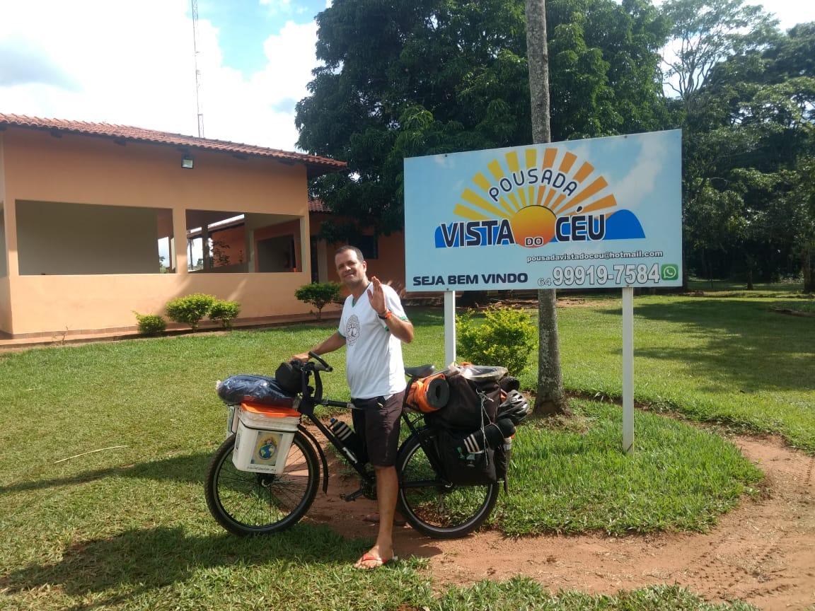 Ciclista Pousada MS a GO