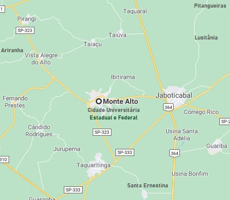 Monte Alto cidade Universitária Estadual
