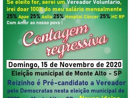 Pre-candidato a Vereador Reizinho por Monte Alto