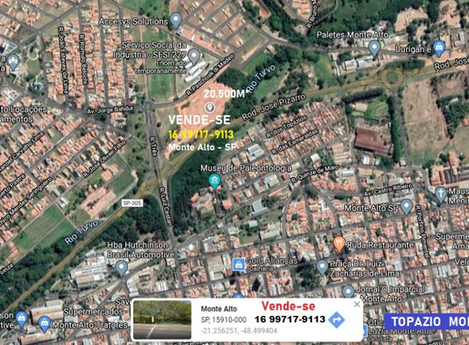 TERRENO 20.500M² A VENDA MONTE ALTO - SP