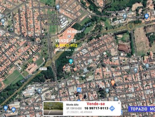 TERRENO 20.500M² A VENDA MONTE ALTO - SP