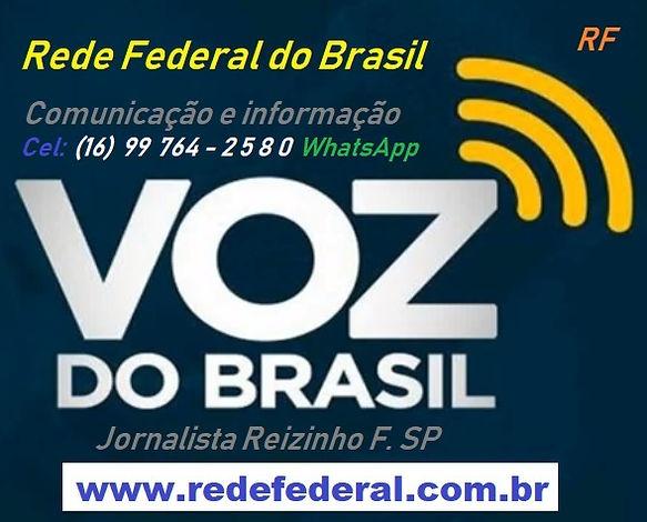 RF-Mkt Voz do Brasil - Jornalista Reizin