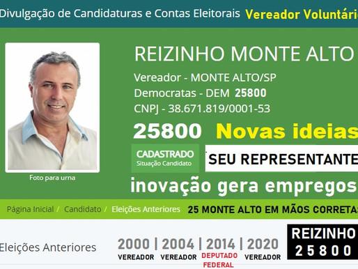 25800 Reizinho Vereador Voluntário