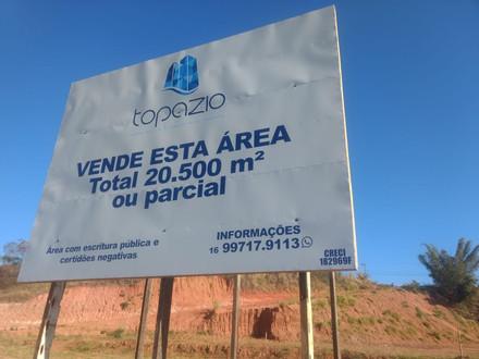 TERRENO DE 20.500M² A VENDA EM MONTE ALTO - SP