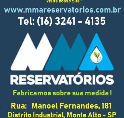 MMA Metalúrgica Monte Alto - Reservatórios