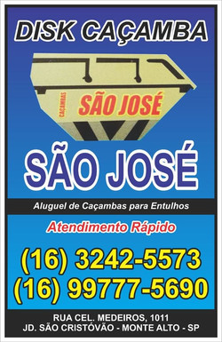 Caçamba São José