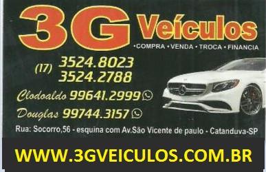 3GVeiculos.com.br loja de Veículos Seminovos
