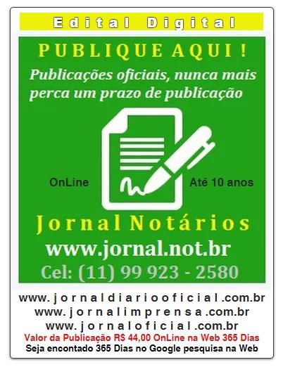 Publicação Oficial