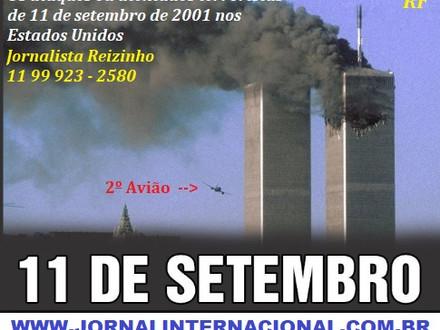 11 de Setembro de 2001 Estados Unidos uma tragedia inesquecível