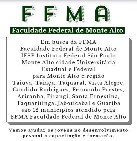 FFMA Faculdade Federal de Monte Alto 11