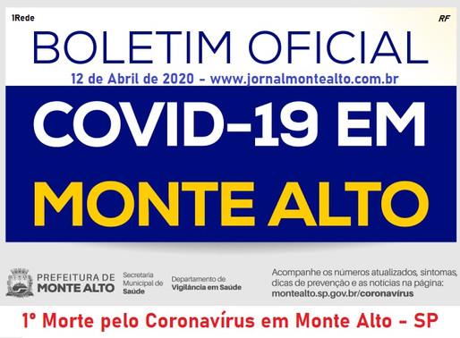 1º Morte em Monte Alto - SP pelo Coronavírus - Covid-19