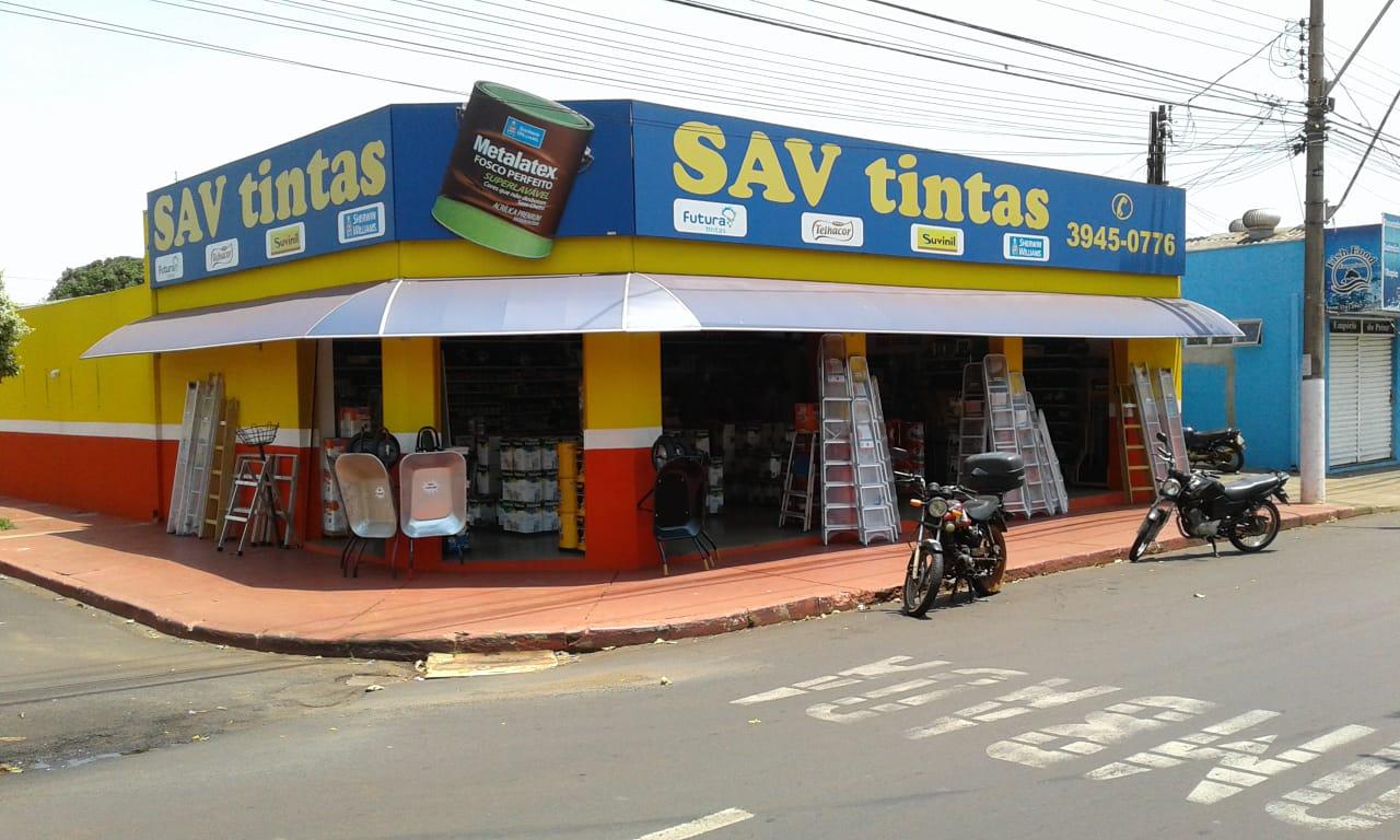 loja sav tintas logo