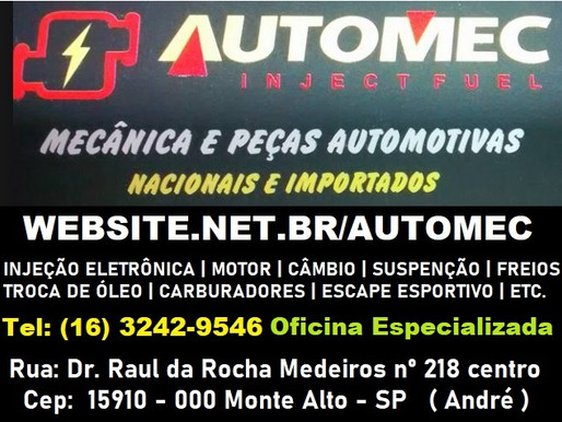 AutoMec Monte Alto - SP