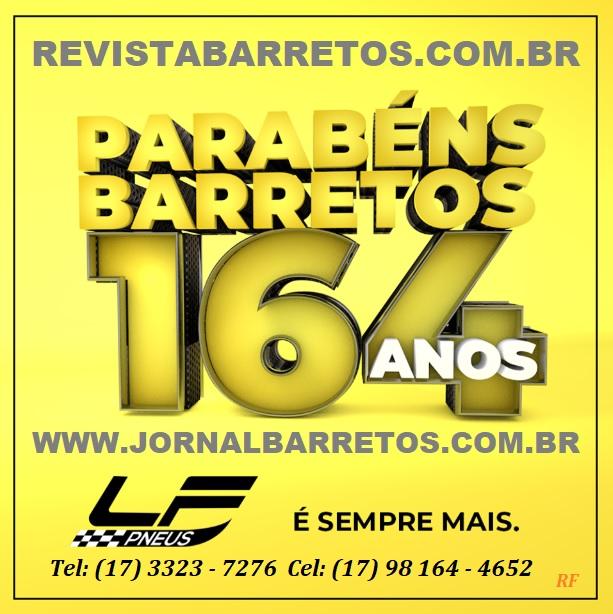 BARRETOS 164 ANOS