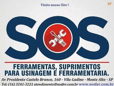 SOS FERRAMENTAS PARA USINAGEM