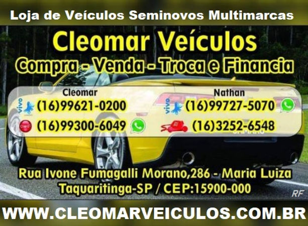 CLEOMARVEICULOS.COM.BR  -  TAQUARITINGA