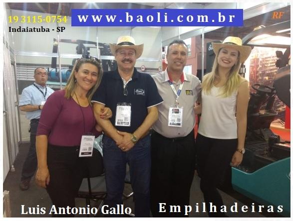 Luis Antonio gallo empilhadeiras - Baoli