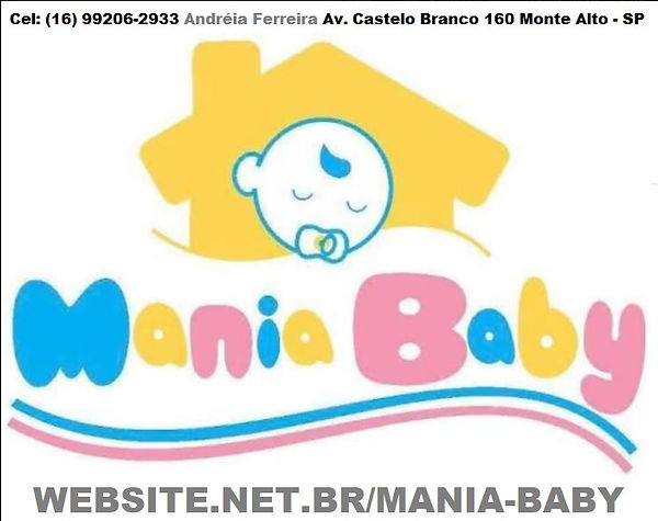 MANIA BABY LOJA MONTE ALTO ANDREIA FERRE