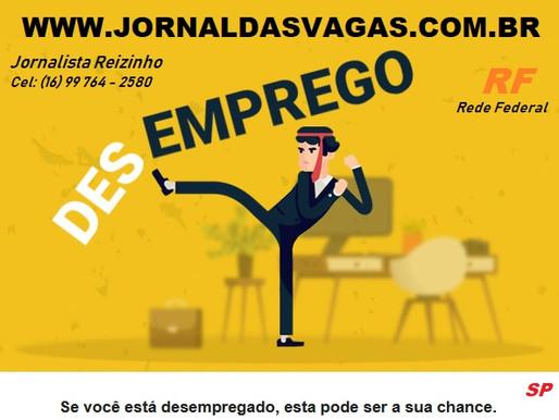 Vagas Brasil www.vagasbrasil.com.br Jornal das Vagas www.jornaldasvagas.com.br