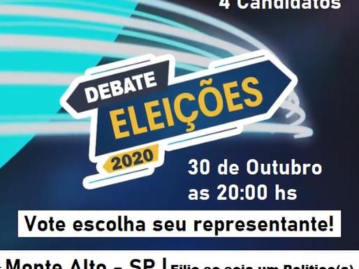 Debate Eleitoral 2020 Monte Alto