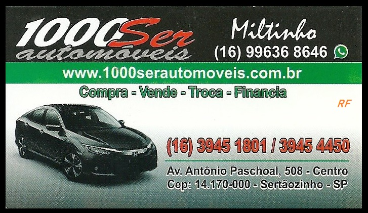 Mkt-RF Miltinho Veiculos - 1000 Ser Veiculos