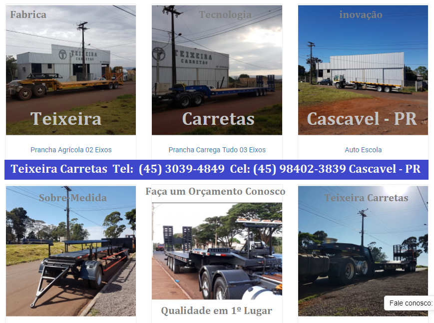 Mkt-RF Teixeira Carretas - Cascavel - PR