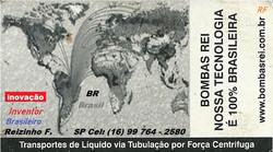 Mkt-RF Bombas Rei Brasil - Tecnologia Brasileira