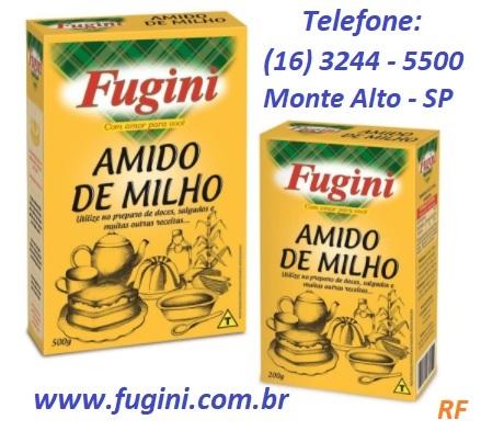 Fugini Alimentos - Amido de Milho - RF