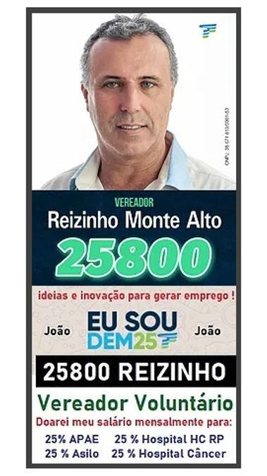 Reizinho 25800 Vereador Voluntario Monte