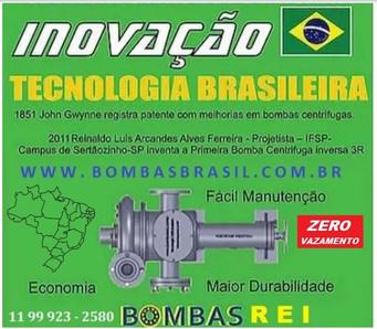 Bombas Brasil Tecnologia Brasileira Reiz