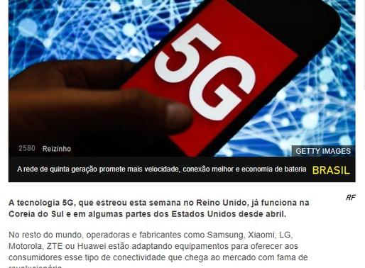 5G em 2021 no Brasil