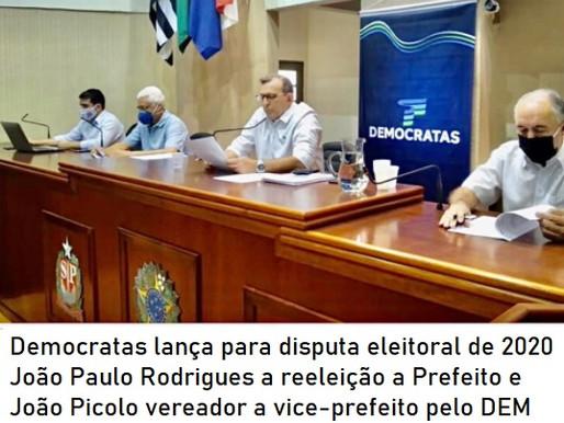 DEMOCRATAS MONTE ALTO
