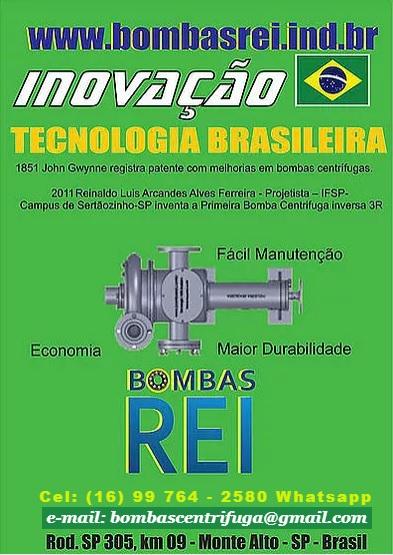Brasil_inovação_-_Bombas_Rei_Brasil_www.bombasrei.com.br