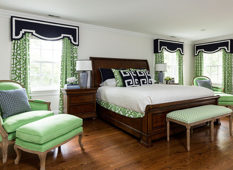 NEW CANAAN: TAILORED MASTER BED AND BATH