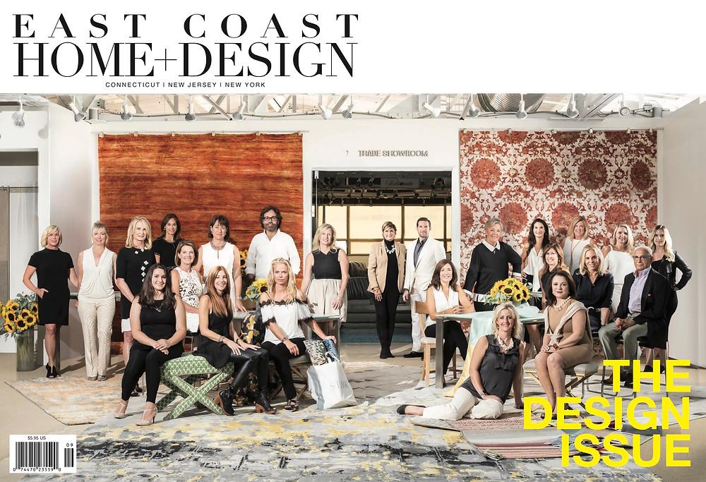 Reed & Acanthus Interior Design in East Coast Home + Design Magazine
