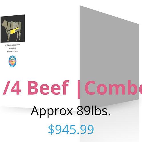 Quarter Beef/Combined