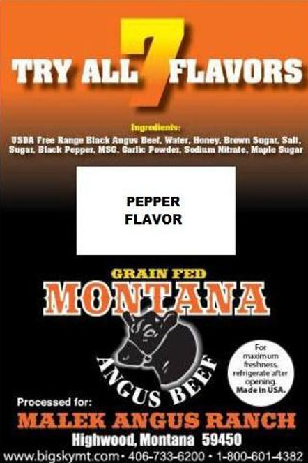 Peppered Flavor Beef Jerky - 3oz. package