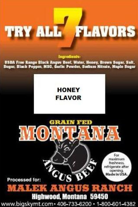Honey FlavorBeef Jerky - 3oz. package