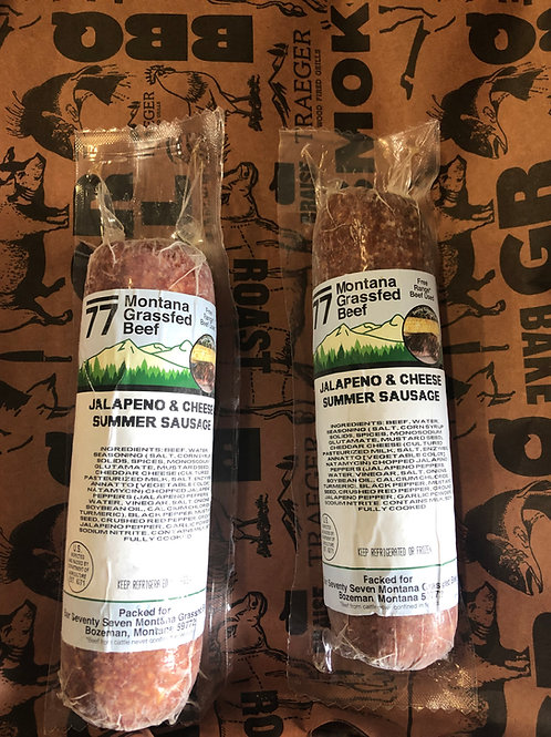 Jalapeno & Cheese Summer Sausage