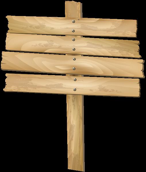 Wooden_Sign_Transparent_Clip_Art_PNG_Ima