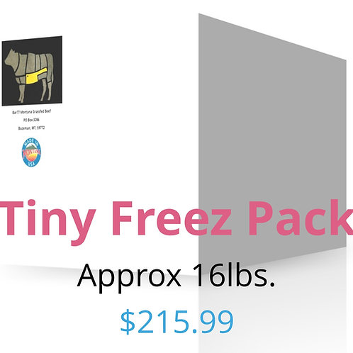 Tiny Freezer Package