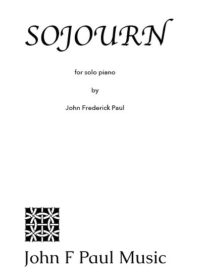 Sojourn - for solo piano