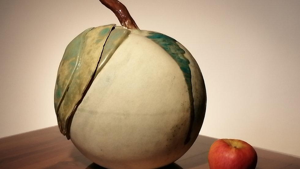 Giant ceramic pears