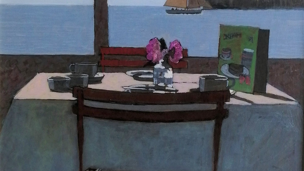 """""""View from the dining table"""" Mike Hall"""