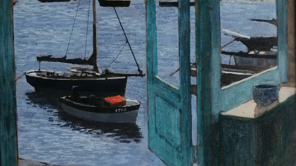 """""""Holiday in Mousehole"""" Mike Hall"""
