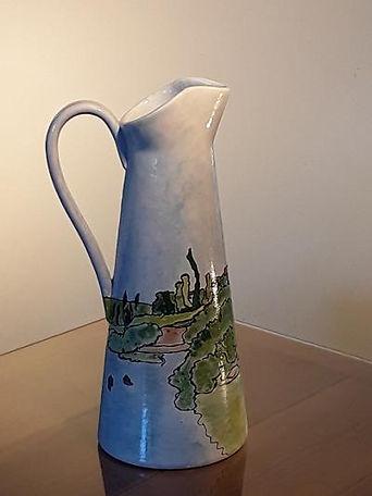 Tall slim jug with seascape.jpg