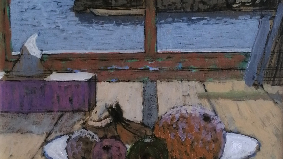 """""""Still life by the harbour"""" Mike Hall"""