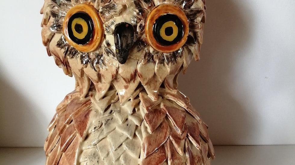 earthen ware owl